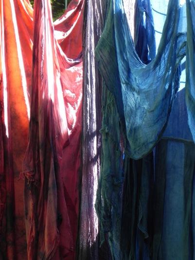 madder, logwood & indigo blends fresh from dyepot