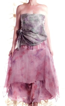 """""""Cosette"""" skirt with scarf"""