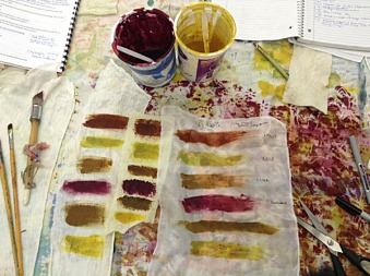Printing with Thickened Dyes