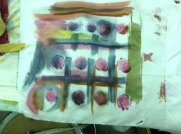 painting with pigments