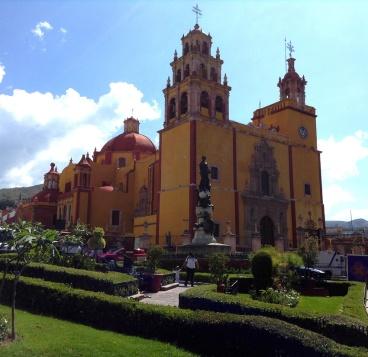 the Basílica Colegiata de Nuestra Señora de Guanajuato