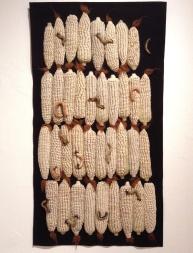 maíz en fieltro