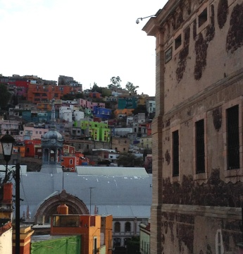 View from a callejón