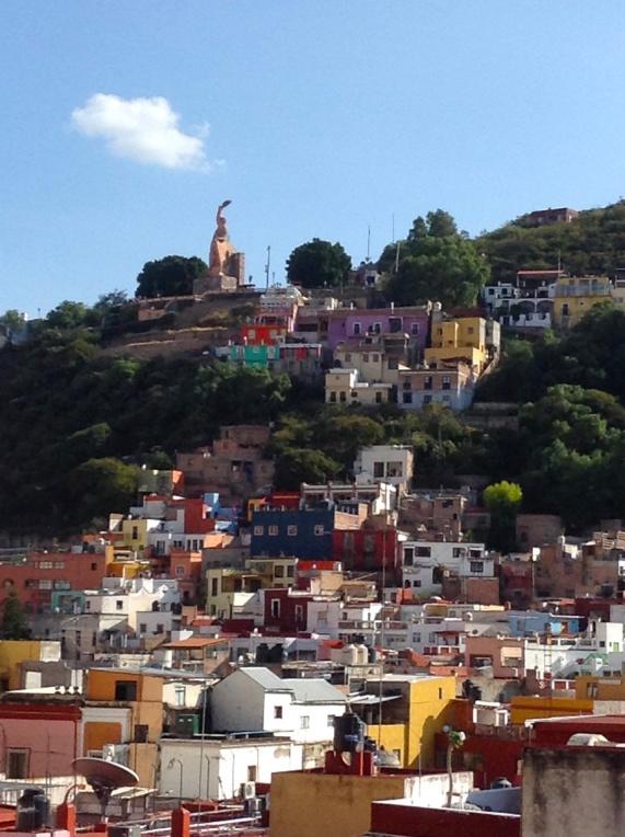 The Guanajuato palisades