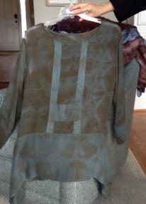 Resist-dyed Tunic c. 2011