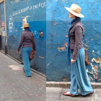 Down an Indigo Calle